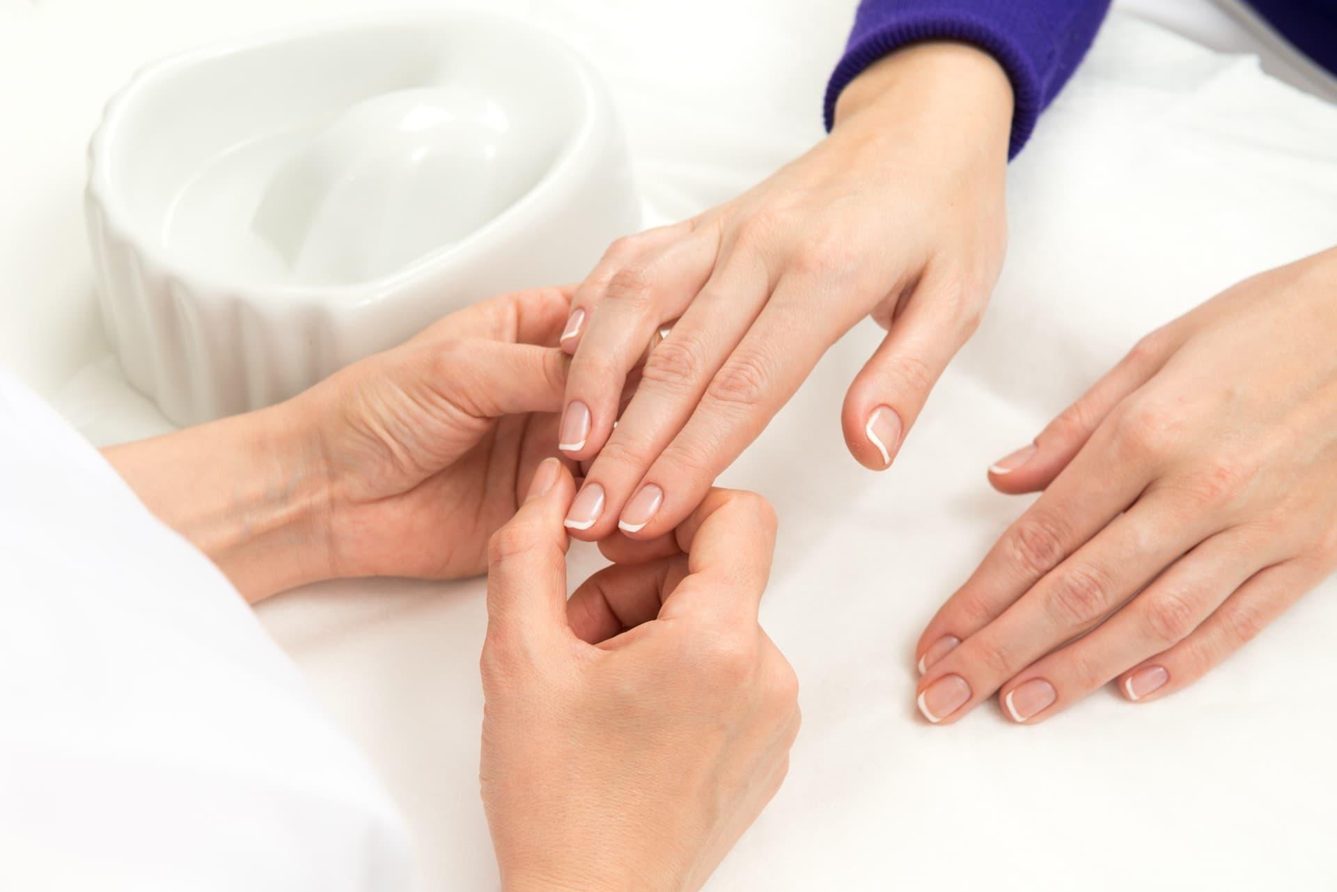 Manicure bez malowania